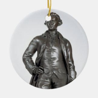 Edmund Burke (1729-97) 1865 (bronze) Ceramic Ornament