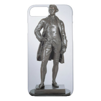 Edmund Burke (1729-97) 1865 (bronze) iPhone 8/7 Case
