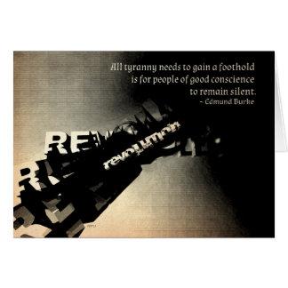 Edmund Burke Quote Card