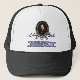 Edmund Burke Quote:  Liberty Among the Corrupt Trucker Hat