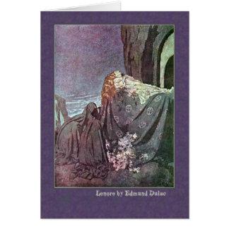 Edmund Dulac Illustrates Edgar Allan Poe Greeting Card