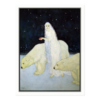 Edmund Dulac - The Snow Maiden Postcard