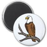 Edmund Eagle Magnet