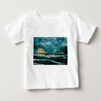 Edmund Fitsgerald 1996 with text Baby T-Shirt
