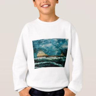 Edmund Fitsgerald 1996 with text Sweatshirt