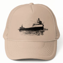 Edmund Fitzgerald ~ CUSTOMIZABLE COLOR Trucker Hat