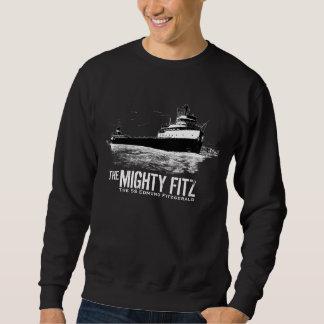 Edmund Fitzgerald ~ Mighty Fitz ~ Maritime History Pullover Sweatshirts