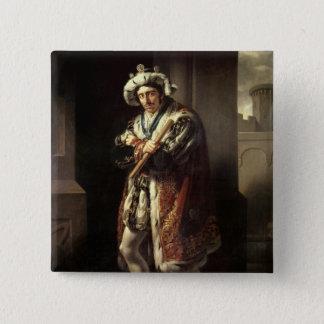 Edmund Kean  as Richard III, 1814 Pinback Button