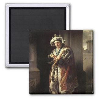 Edmund Kean como Richard III, 1814 Imán Cuadrado