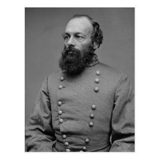 Edmund Kirby Smith Portrait American Civil War Postcard