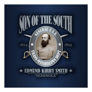 Edmund Kirby Smith (SOTS2) silver Poster