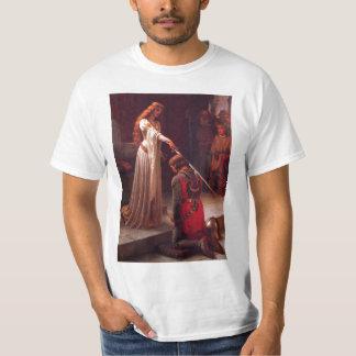 Edmund Leighton-The Accolade T-Shirt