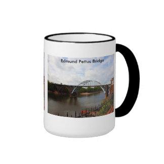 Edmund Pettus Bridge in Selma, Alabama Ringer Coffee Mug