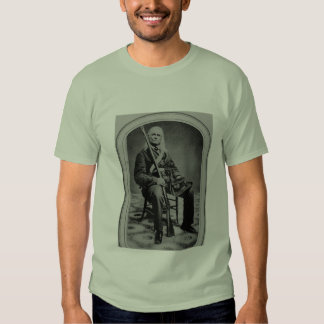 Edmund Ruffin Rebel Soldier Tee Shirt