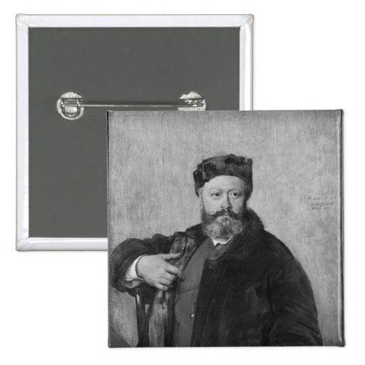 Edmundo Felix Valentin alrededor Pin Cuadrado