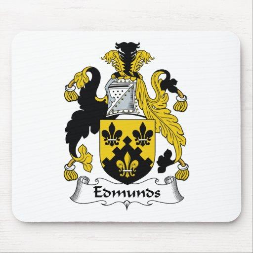 Edmunds Family Crest Mouse Pads