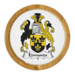 Edmunds Family Crest Round Cheese Board