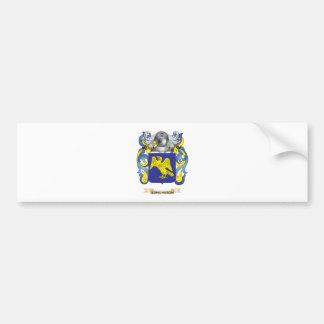 Edmundson Coat of Arms Bumper Sticker