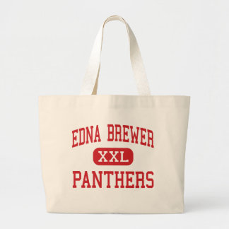Edna Brewer - Panthers - Junior - Oakland Tote Bags