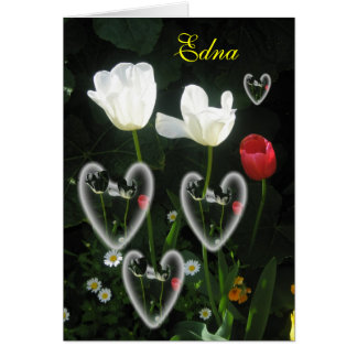 Edna Greeting Card