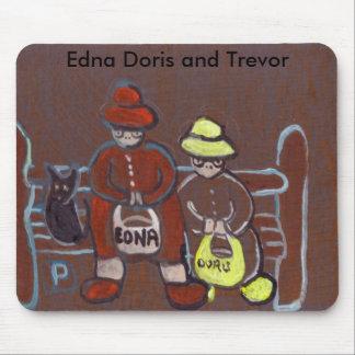 Edna Doris and Trevor Mousepad