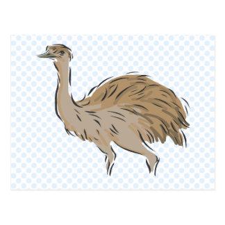 Edna Emu Postcard