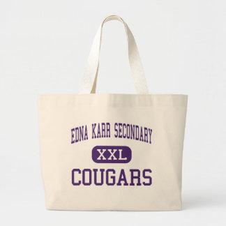 Edna Karr Secondary - Cougars - High - New Orleans Bag