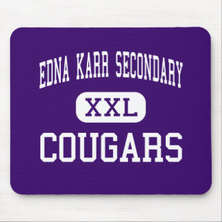 Edna Karr Secondary - Cougars - High - New Orleans Mouse Mat