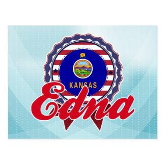 Edna, KS Postcard