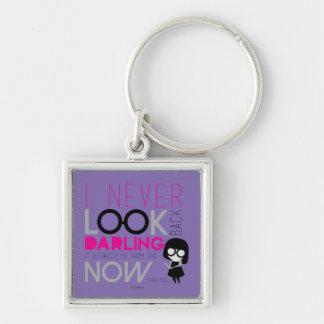 Edna Mode - I Never Look Back Keychain