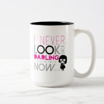Edna Mode - I Never Look Back Two-Tone Coffee Mug
