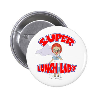 Edna The Lunch Lady Cartoons Button