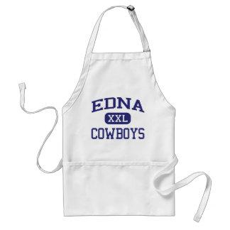 Edna - vaqueros - High School secundaria de Edna - Delantal