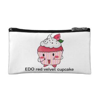 EDO red velvet cupcake Cosmetic Bag