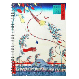 Edo Tanabata Festival 1857 Note Book