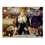 Edouard Manet - A Bar at the Folies-Bergere Card