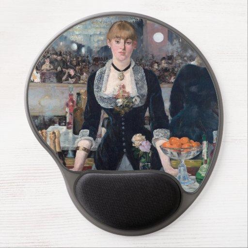 Edouard Manet - A Bar at the Folies-Bergere Gel Mouse Pad