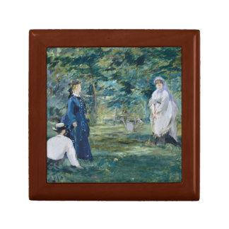 Edouard Manet - A Game of Croquet Keepsake Box