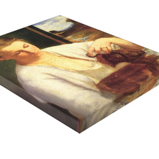 Edouard Manet- A woman pouring water Gallery Wrap Canvas