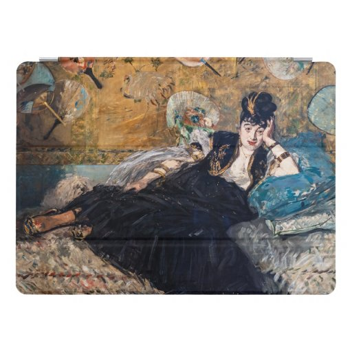 Edouard Manet artwork - Lady with Fans iPad Pro Cover