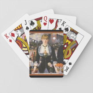 Edouard Manet  Bar at the Folies-Bergère Card Deck