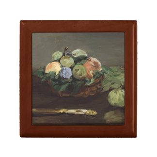 Edouard Manet - Basket of Fruit Jewelry Box