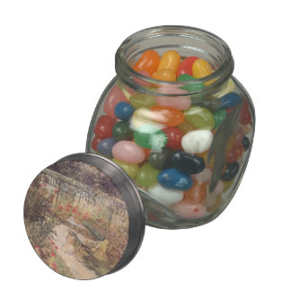 Edouard Manet- Bench Jelly Belly Candy Jar