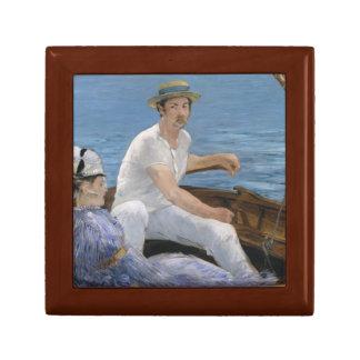 Edouard Manet - Boating Gift Box