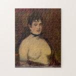 Edouard Manet - Female actpuzzle Jigsaw Puzzle