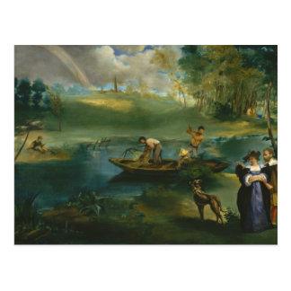 Edouard Manet - Fishing Postcard