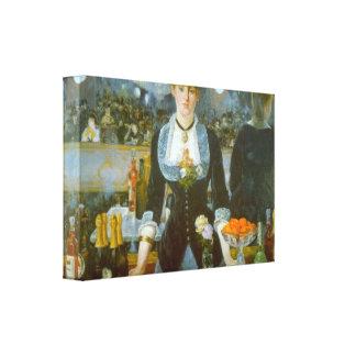 Edouard Manet - Folies-Bergere Canvas Print