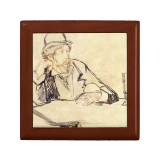Edouard Manet - George Moore at the Cafe Jewelry Box
