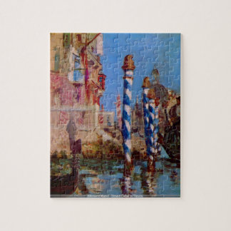 Edouard Manet - Grand Canal in Venicepuzzle Jigsaw Puzzles