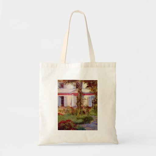Edouard Manet - House in Rueil Bags